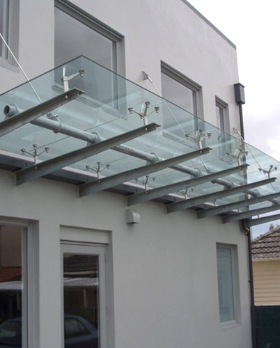 Glass Canopy - Fellice's Glass Supply
